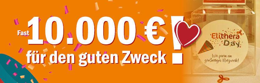 Elithera Day – fast 10.000 € Spenden für den guten Zweck.