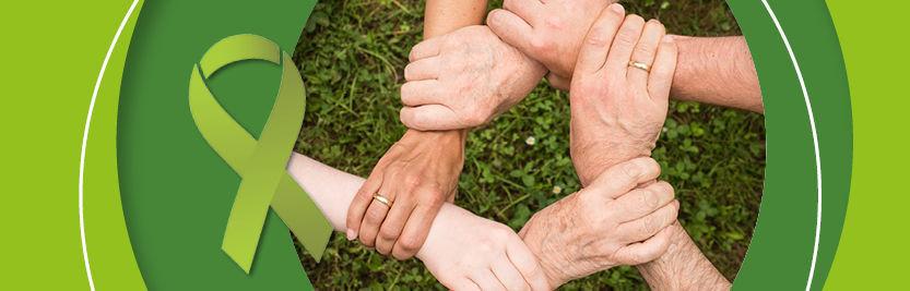 Internationaler Tag der seelischen Gesundheit am 10. Oktober. Elithera trägt Grün.