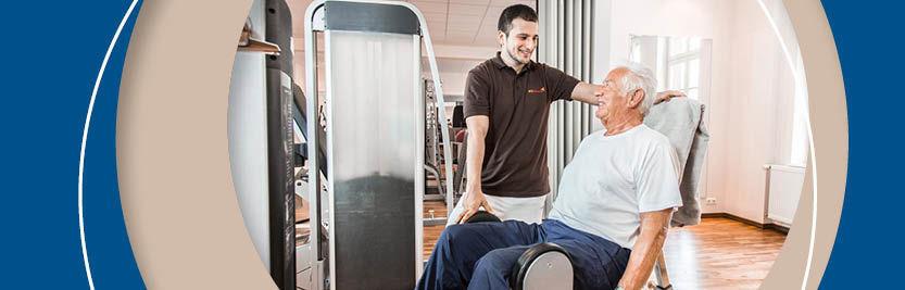 Physiotherapie nach Oberschenkelhalsbruch – wie Sie wieder auf die Beine kommen und Komplikationen vermeiden können.