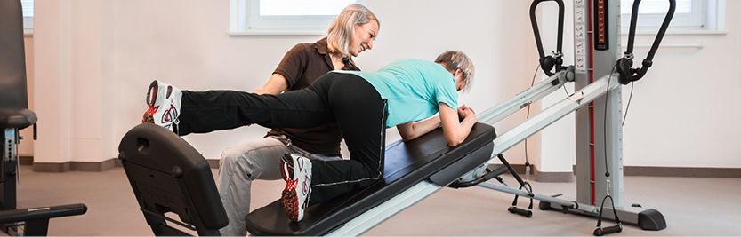 Physiotherapie bei Beinlängendifferenz und Beckenschiefstand