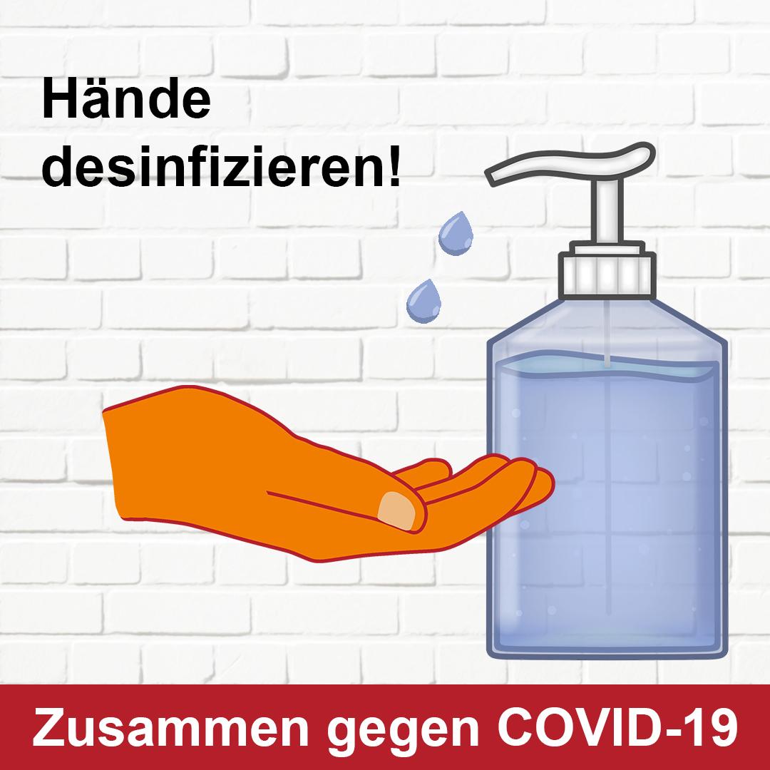 Hygienemaßnahmen - Elithera Reha- und Gesundheitszentrum Hameln