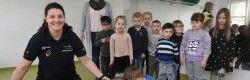 Löwenzahngruppe des DRK-Familienzentrums Sommerwiese besucht Elithera in Vlotho