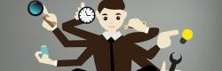 Sind Büromenschen multitaskingfähig?