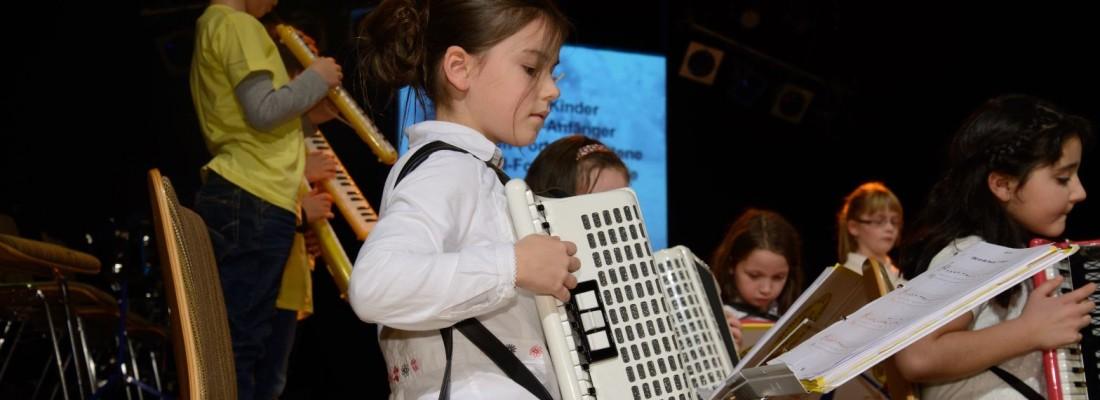 Akkordeon Mädchen